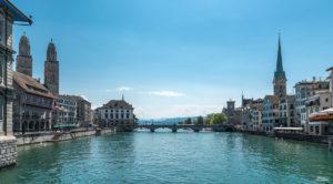 von der Rathausbrücke, Zürich